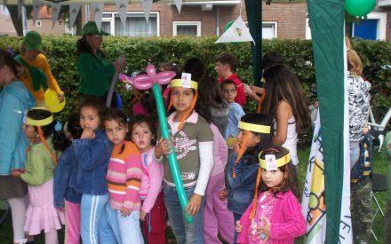 AV team bezoek-Kruiskamp kinderen