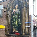 Maria op friteshuis Van Gogh
