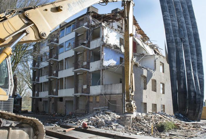 Sloop flats Bachweg - Amersfoort Vernieuwt