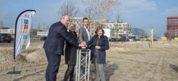 Start bouw Velden 3A, 3B en 6 Hogekwartier- Amersfoort Vernieuwt