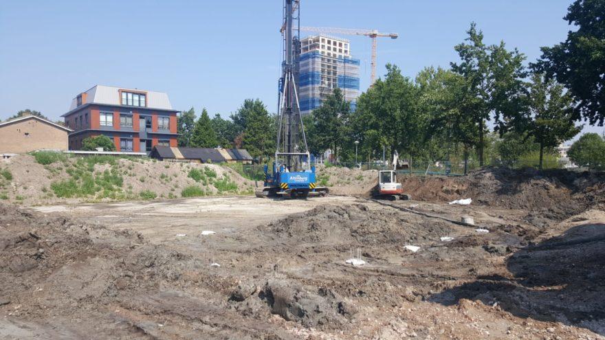 Start bouw Bachweg - Amersfoort Vernieuwt